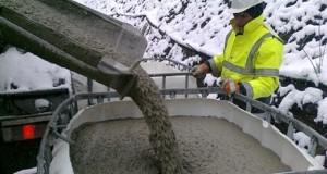 افزودنی های موثر در جلوگیری از یخ زدگی بتن
