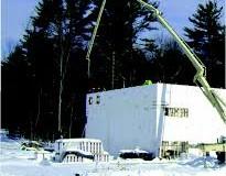 ضد یخ  بتن بر پایه نیتروژن
