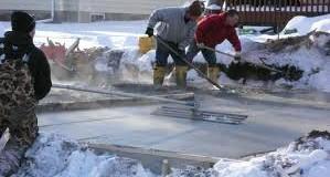 روش مصرف ضد یخ بتن پودری
